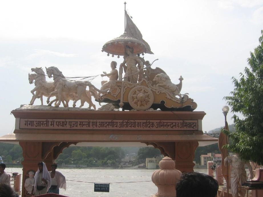 *** Ришикеш - город у священной реки Ганга ***